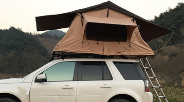 Family 4 Person Roof Top Tent Large Capacity 145x125x28 Cm Fold Size