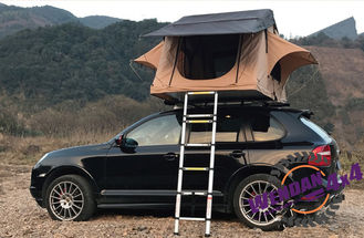 Popular Automatic 4 Person Roof Top Tent Car Sunscreen Leak Proof Camping