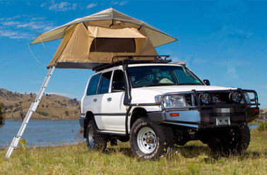 Easy On 4x4 Roof Top Tent Stainless Steel Pole Material For 2 Person supplier