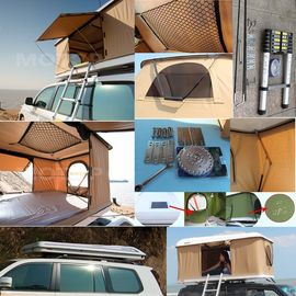 Tear Resistant Car Top Tent Hard Shell With Clipper - Built Design supplier