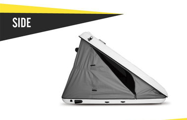 HA125s Hard Shell Car Roof Tent , Automatic Hard Roof Top Tent Triangle Shaped supplier