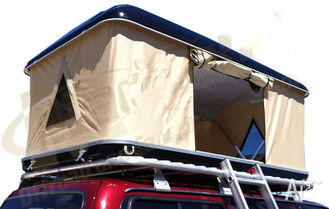 Double Layer Automatic Hard Top Car Tent , 3 Person Roof Top Tent Custom Printed