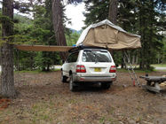 Movable 4x4 Roof Rack Awning Integrated Structure UV Resistance And Waterproof