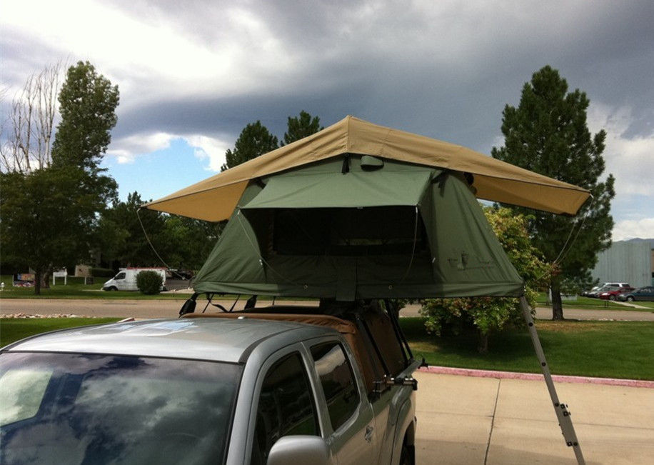Aluminum Pole 4 Man Roof Top Tent , Kukenam Truck Mounted Tent Anti UV