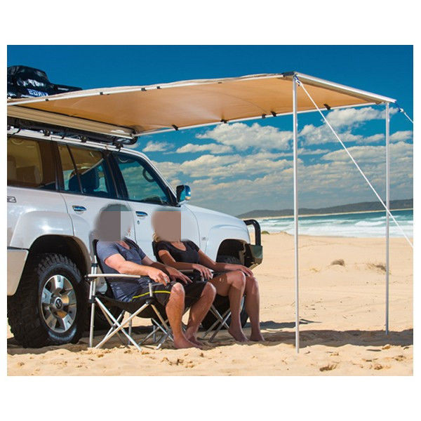 Portable 4x4 Off Road Vehicle Awnings With Ground Nails And Windbreak Ropes
