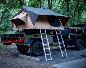 Oxford Automatic Roof Top Tent , Cascadia Pop Up Tent For Roof Rack