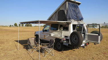 China 4x4 Off Road Automatic Roof Top Tent One Side Open 210x125x95cm Unfold Size factory